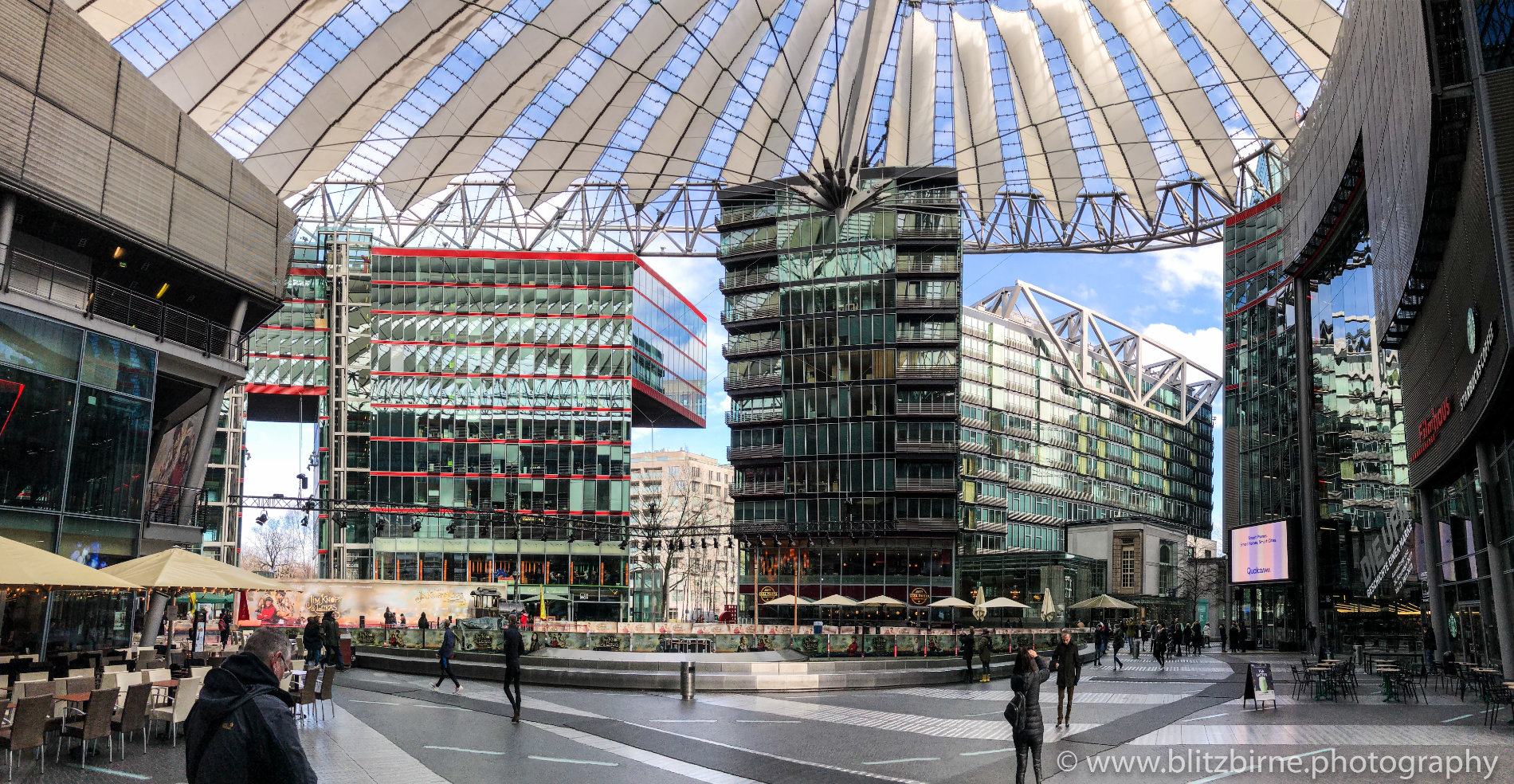 Berlin Sony Center Panorama
