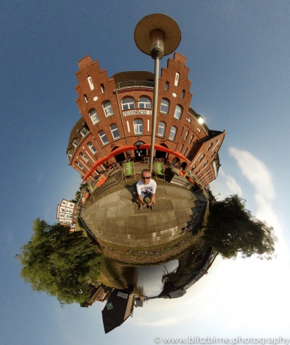Tiny Planet Feuerwache