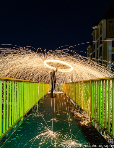 Lightpainting - Bremen Walle